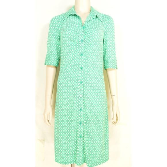 Laundry By Shelli Segal Dresses & Skirts - Laundry by Shelli Segal dress 6 green white print